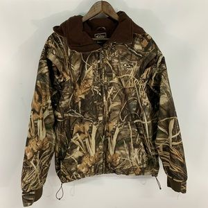 Drake Fleece Lined Camo Full Zip Jacket